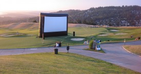 40 Foot Outdoor Movie Screen