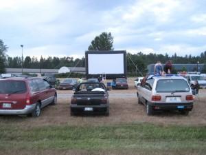 Drive-In movie rental