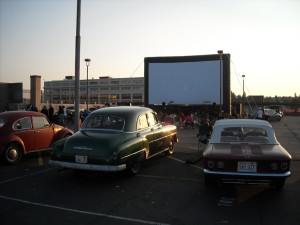 Old school drive-in