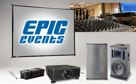 Epic Events - Professional Audio Visual - serving Seattle, Portland, Bellingham and surrounding areas in Washington, Oregon and Idaho